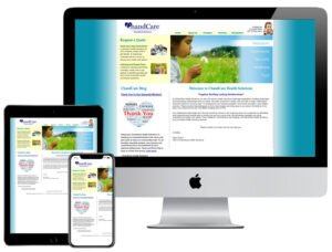 Web Design - Chand Health