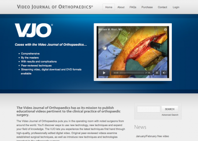 Video Journal of Orthopaedics®