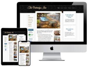 Web Design - Oakridge Inn