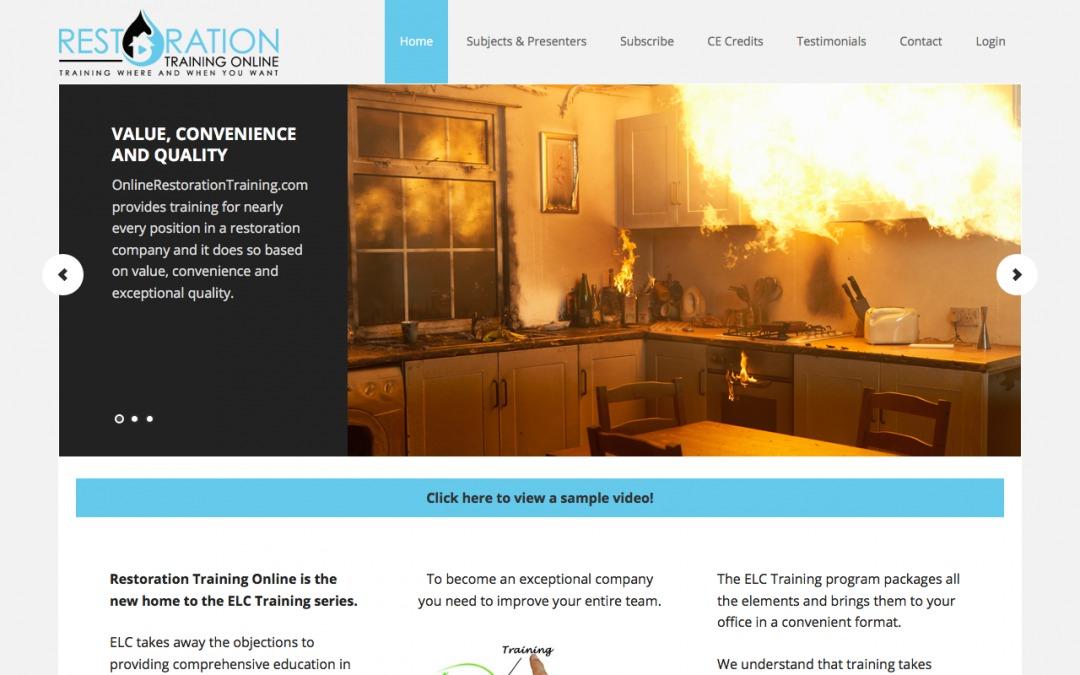 Restoration Training Online