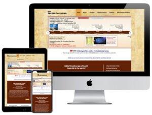 Web Design - The Sacred Calendar