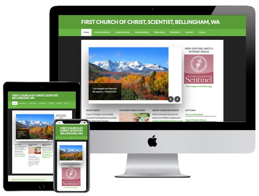 Web Design - Christian Science Bellingham