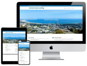 Web Design - Online Mortgage Solutions