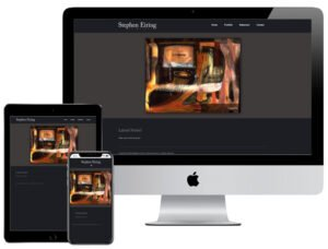 Web Design - Stephen Eiring