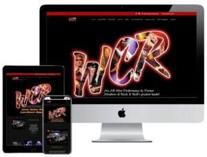 Web Design - World Class Rockers