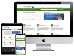 Web Design - US Bank Supply