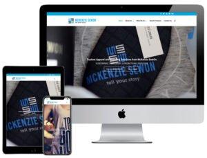 Web Design - McKenzie SewOn