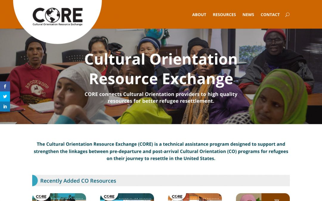 Cultural Orientation Resource Exchange