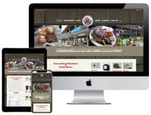 Web Design - Cannon Beach Hardware