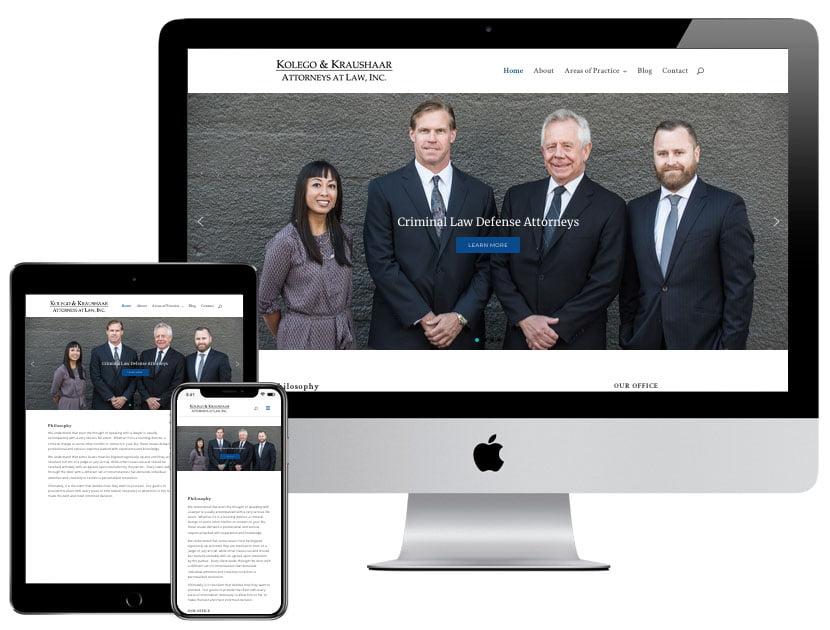 Web Design - Eugene Defense Attorneys