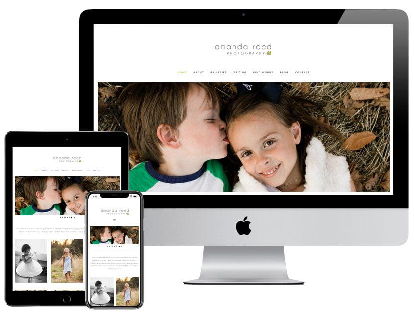 Web Design - Amanda Reed Photography