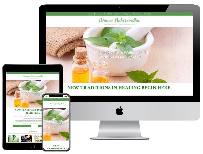 Web Design - Heal Ventura