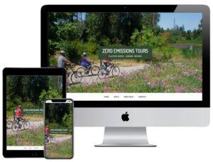 Web Design - Bike Tours Eugene