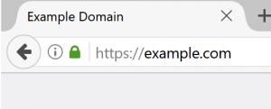 secure padlock website security