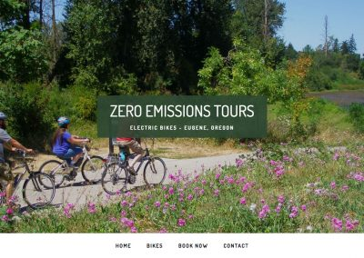 Zero Emissions Bike Tours