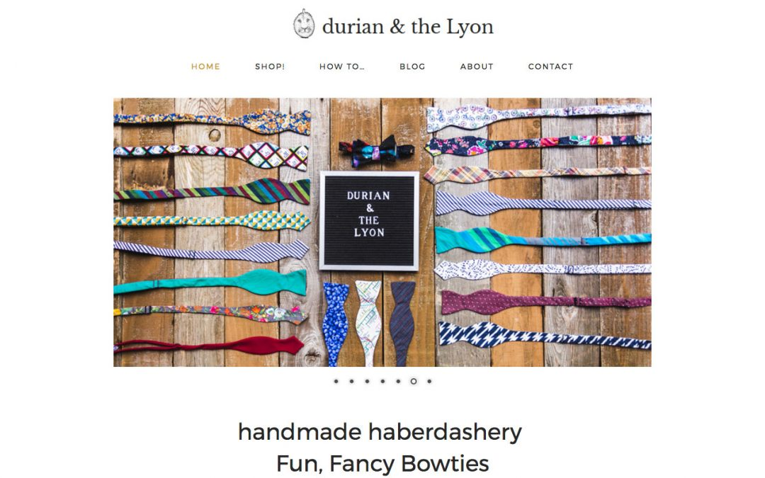 durian & the Lyon haberdashery
