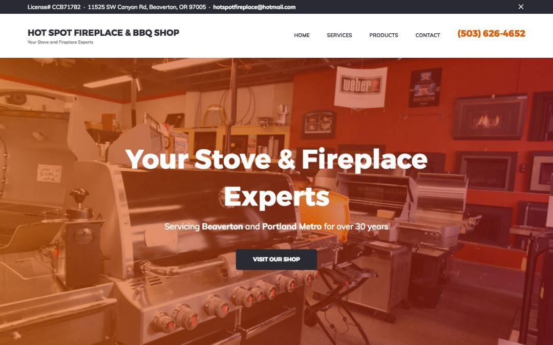 Hot Spot Fireplace & BBQ Shop