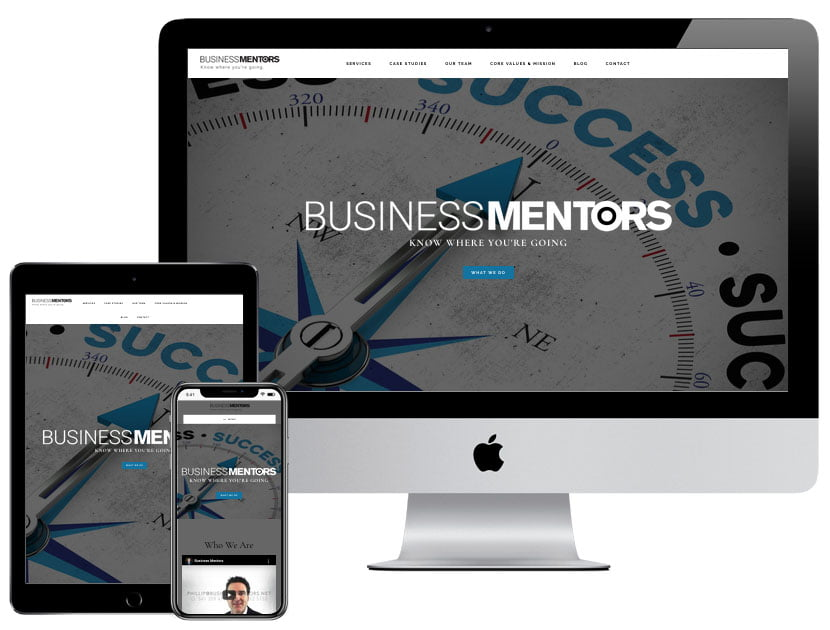 Web Design - Business Mentors