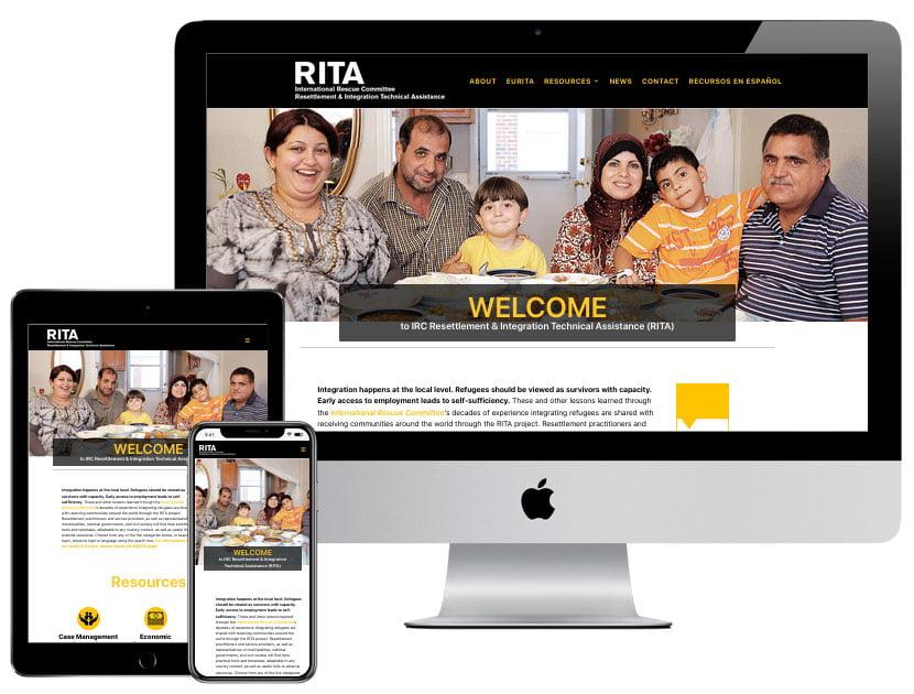 Web Design - Resettlement Resources