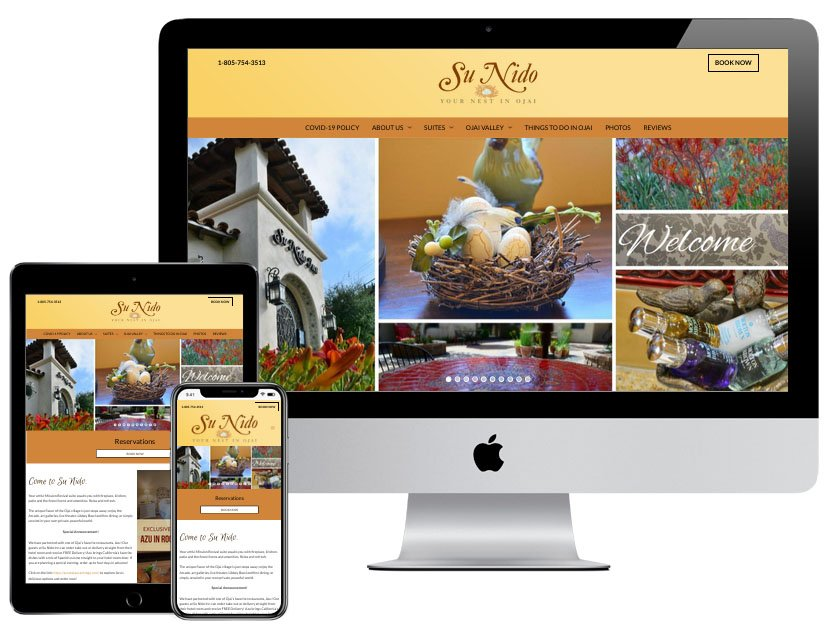 Web Design - Su Nido Inn