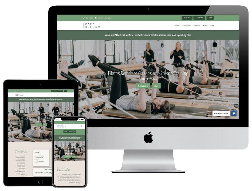 Web Design - Core Reform