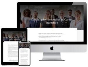 Web Design - JA Talent Partners