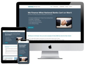 Web Design - National Mortgage Advice