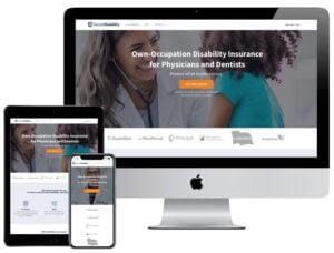 Web Design - Doctor Disability