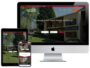 Web Design - Bright Apartments