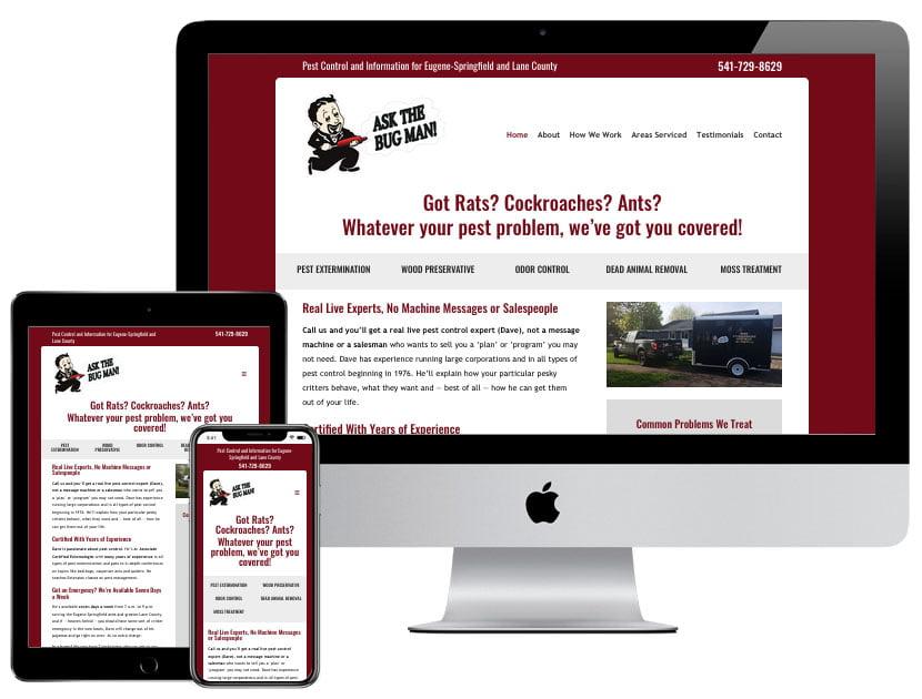 Web Design - Ask the Bug Man