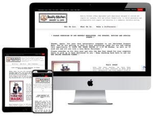 Web Design - Reality Kitchen