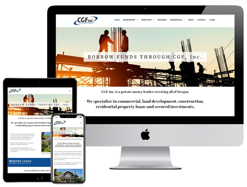 Web Design - CGF INC.
