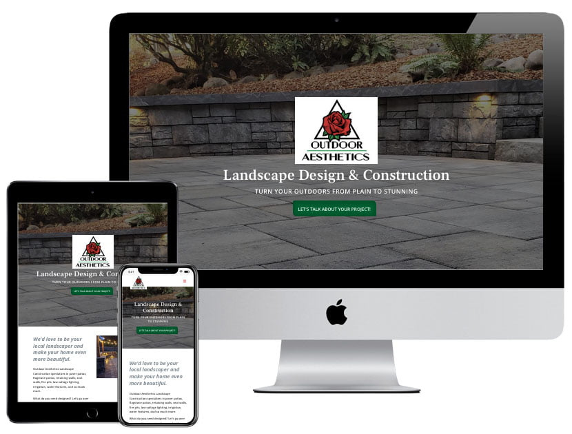 Web Design - OA Landscaping
