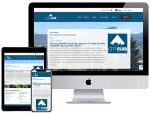 Web Design - City Club of Eugene