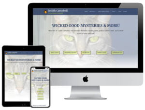 Web Design - Judith Campbell Holy Mysteries
