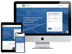Web Design - Oregon Solar Clean