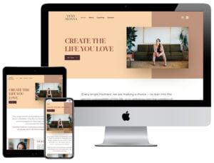 Web Design - Vicky Aldana
