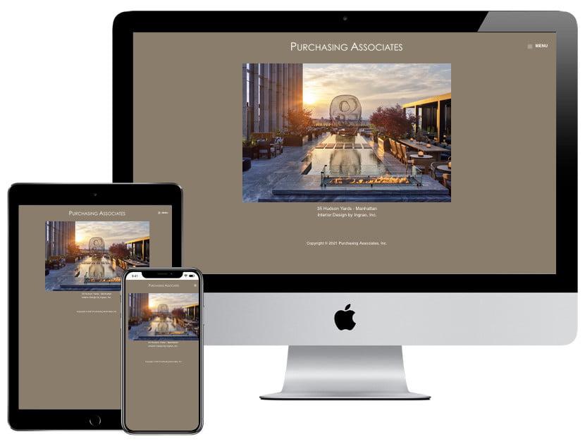 Web Design – Purchasing Associates